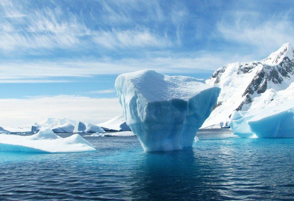 iceberg, antarctica, polar